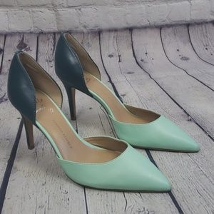 Banana Republic 2 Tone D'Orsay Pumps